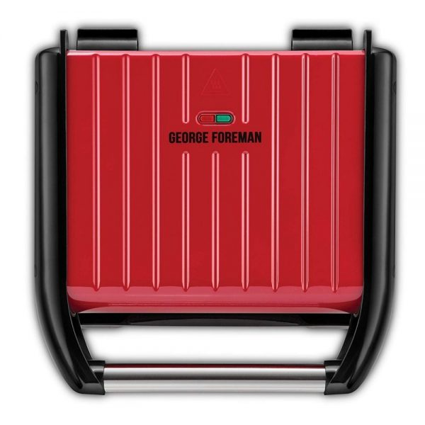 George Foreman Red 5-Portion Family Grill