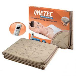 Imetec Single Bed Washable Heated Underblanket