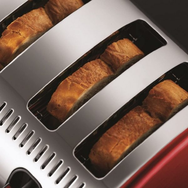 Russell Hobbs Legacy 4 Slice Toaster Red