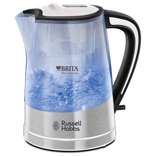 Russell Hobbs Purity Brita Filter Illuminating Kettle