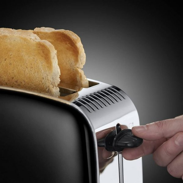 Russell Hobbs Colours Plus 2 Slice Toaster Black