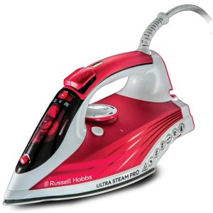 Russell Hobbs Ultra Steam Pro Iron - Pink