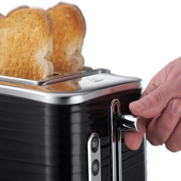 Russell Hobbs Inspire 2 Slice Toaster Black