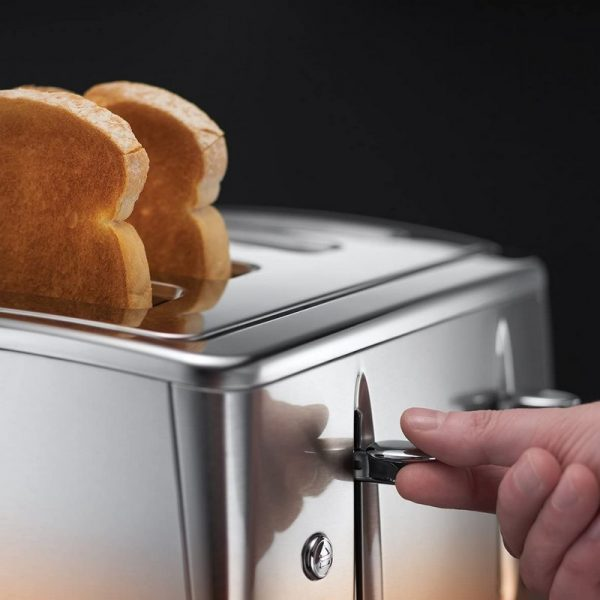Russell Hobbs Eclipse 4 Slice Toaster Copper Sunset
