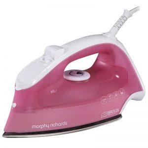 Morphy Richards Breeze Steam Iron - Pink