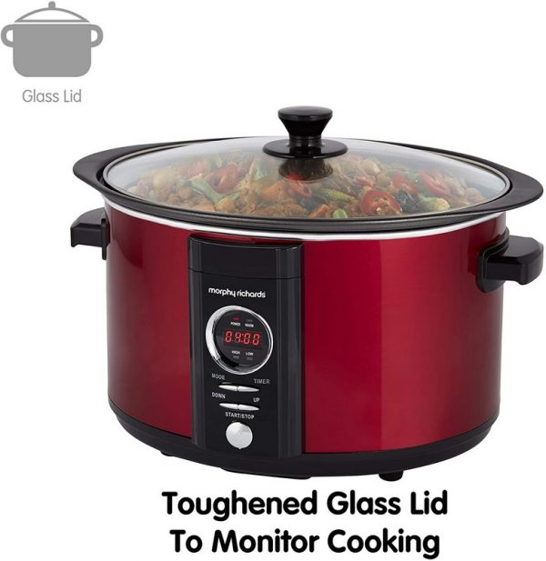Morphy Richards 6.5 Sear & Stew Digital Slow Cooker