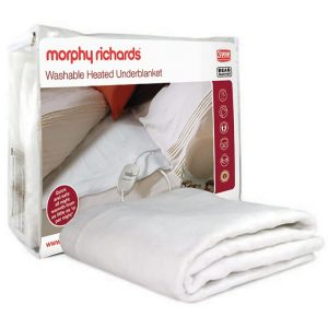 Morphy Richards Double Bed Washable Heated Underblanket