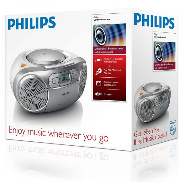 Philips CD Soundmachine With Audio In