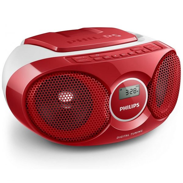 Philips CD Soundmachine Red