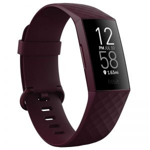 Fitbit Charge 4 Fitness Tracker With GPS - Rosewood