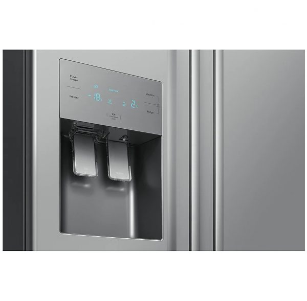 Samsung Plumbed Water/Ice Fridge Freezer Metal Graphite