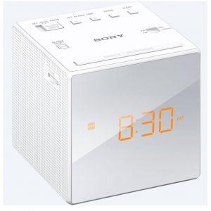 Sony LED Clock Radio – White