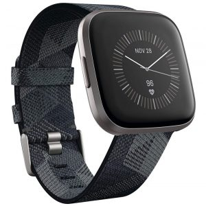 Fitbit Versa 2 Fitness & Smart Watch – Black / Grey