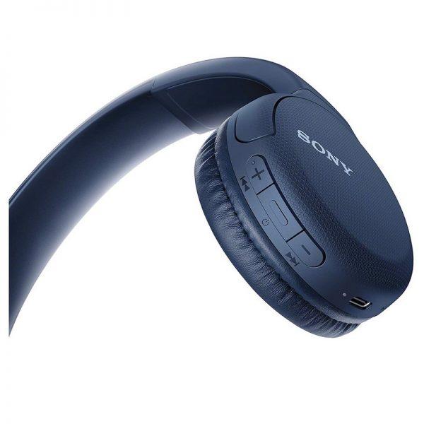 Sony Bluetooth Headphones Blue