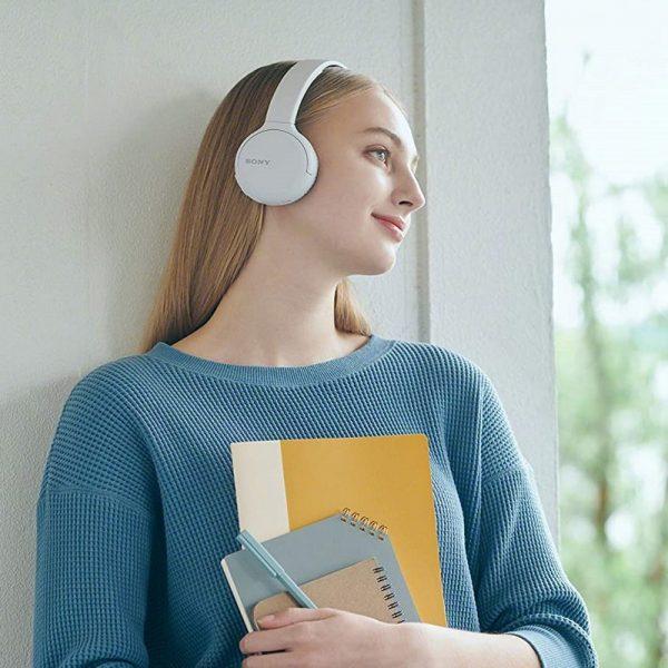 Sony Bluetooth Headphones White