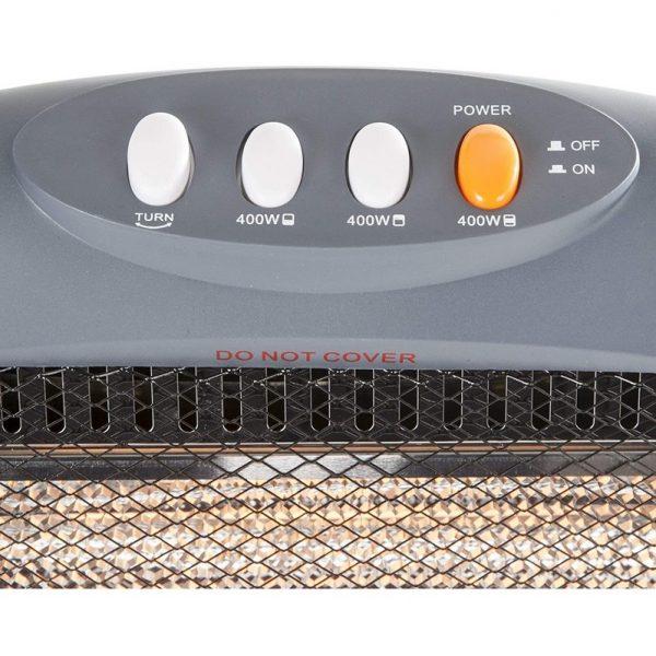 Warmlite 3 Bar Halogen Heater