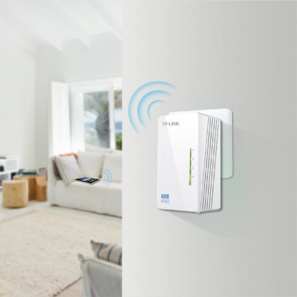 TP Link AV600 Powerline Wi-Fi Extender - Add on