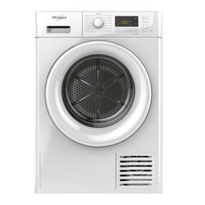 Whirlpool 8KG Condenser Dryer with Heat Pump