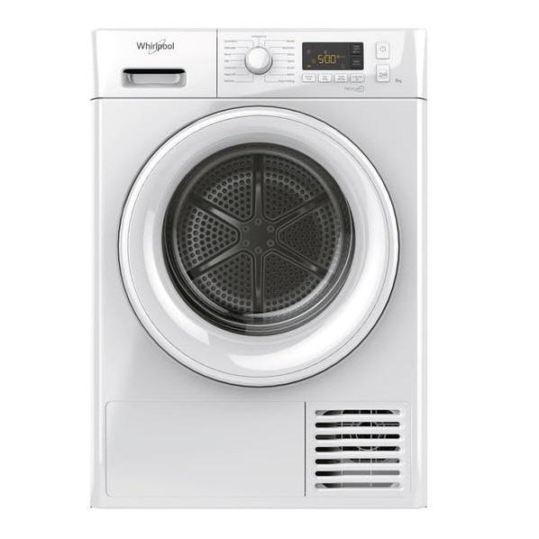 Whirlpool 8KG Condenser Dryer with Heat Pump
