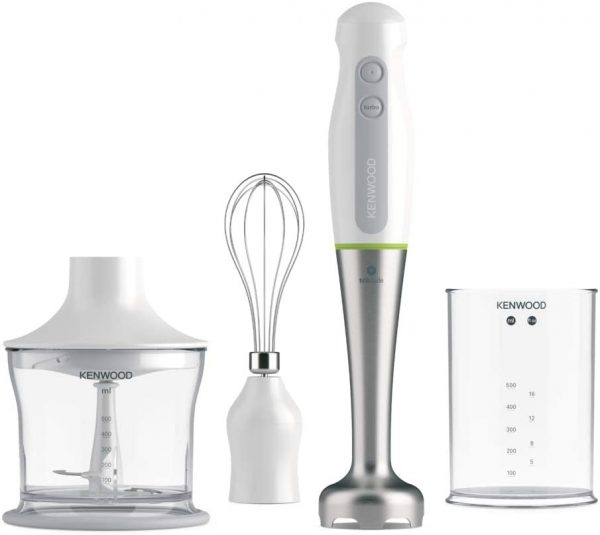 Kenwood Tri-Blade Hand Blender with chopper and whisk