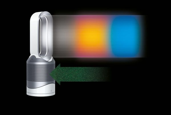Dyson Pure Hot + Cool Link Air Purifier I White & Silver