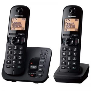 Panasonic KX-TGC222 Twin Cordless Phone With Answering Machine