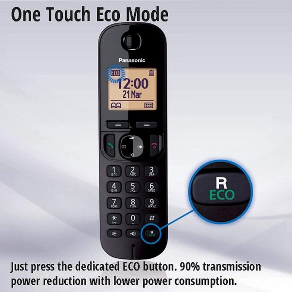 Panasonic KX-TGC222 Twin Cordless Phone With Answering Machine