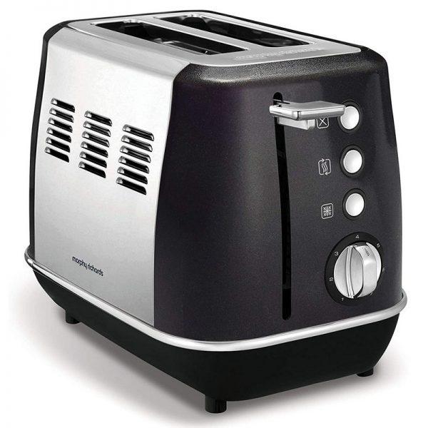 Morphy Richards Evoke 2 Slice Toaster Black