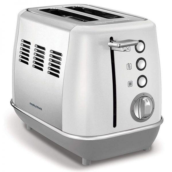 Morphy Richards Evoke 2 Slice Toaster White