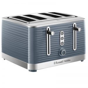 Russell Hobbs Inspire 4 Slice Toaster Grey