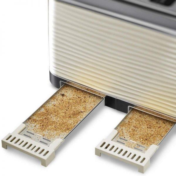 Russell Hobbs Inspire 4 Slice Toaster Cream
