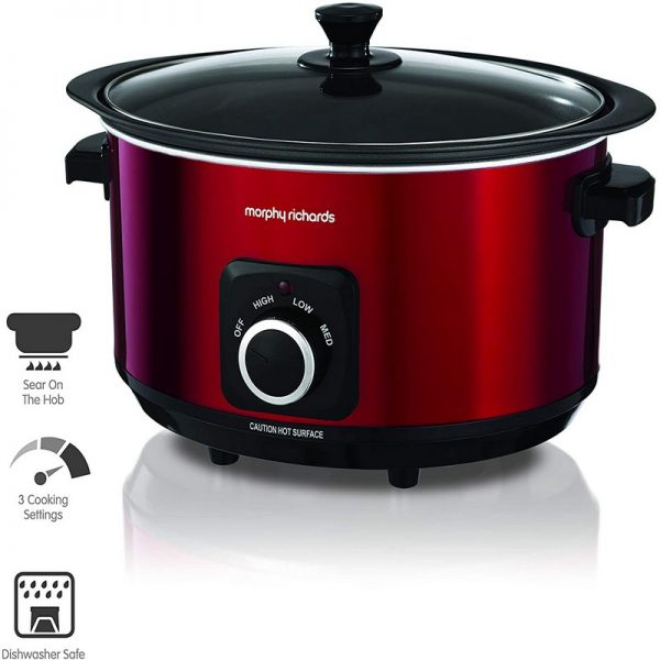 Morphy Richards 6.5L Sear & Stew Slow Cooker