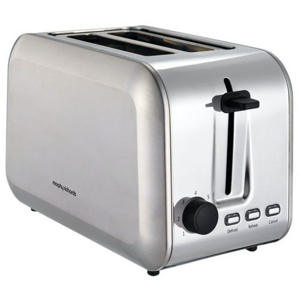 Morphy Richards 2 Slice Toaster Stainless Steel