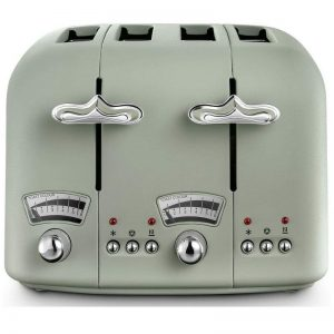 DeLonghi Argento Flora Toaster Green