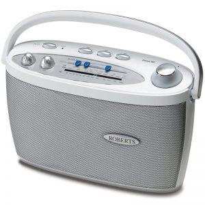 Roberts Classic 997 3 Band Radio – White