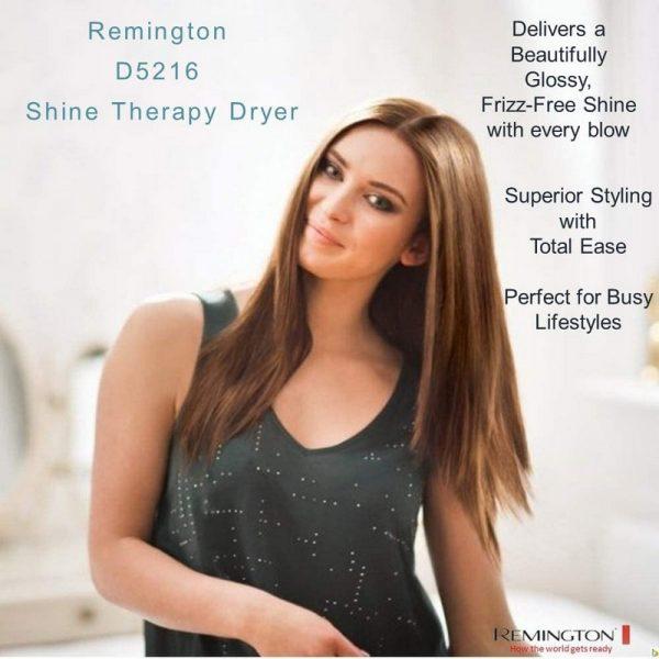 Remington Shine Therapy Hair Dryer
