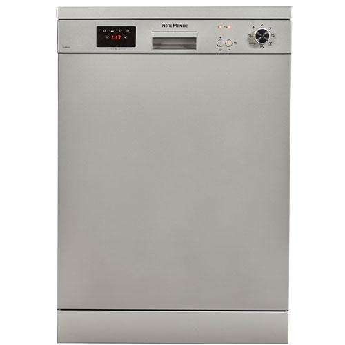 Nordmende Freestanding Dishwasher – Silver DW66SL