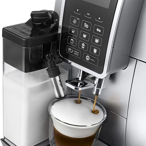 DeLonghi Dinamica Fully Automatic Bean to Cup Coffee Machine