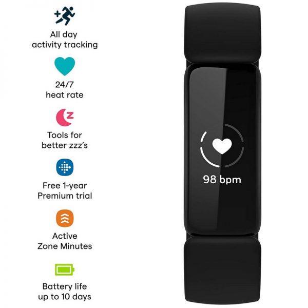 Fitbit Inspire 2 Fitness Watch – Black
