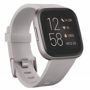 Fitbit Versa 2 Fitness & Smart Watch – Mist Grey