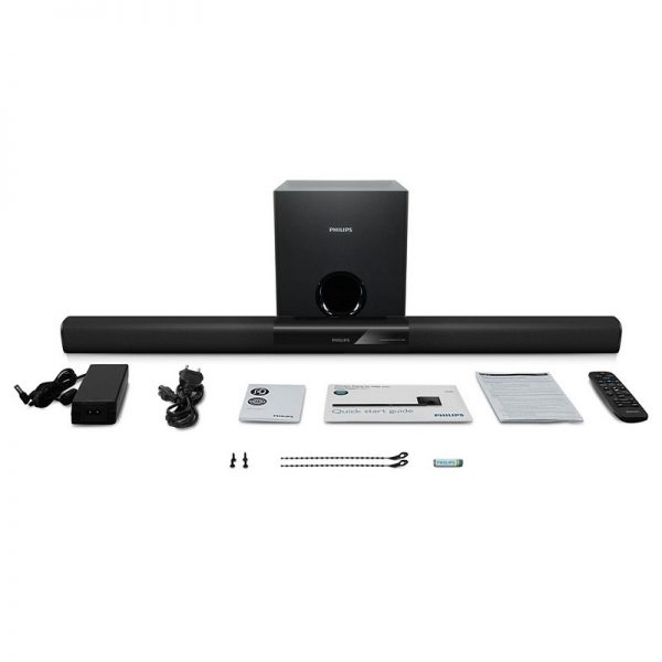 Philips 2.1 Channel Soundbar With Bluetooth