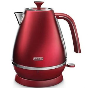 DeLonghi Distinta Flair Kettle Allure Red