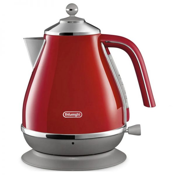 DeLonghi Icona Capitals Kettle Red