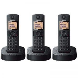 Panasonic KX-TG313 Triple Cordless Phone Set