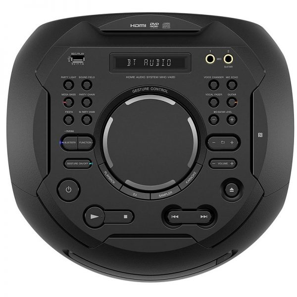 Sony V42D High Power Audio System With Bluetooth