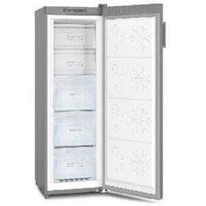 Powerpoint 54CM 166L Tall Larder Freezer Stainless Steel