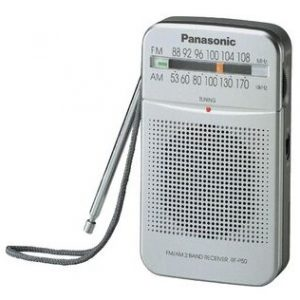 Panasonic RF50 2 Band Pocket Radio