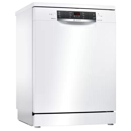 Bosch Serie 4 60CM Free Standing Dishwasher – White SMS46MW03G