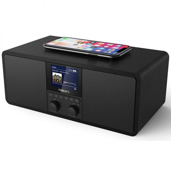 Philips Internet Radio with Bluetooth and Wireless Charging