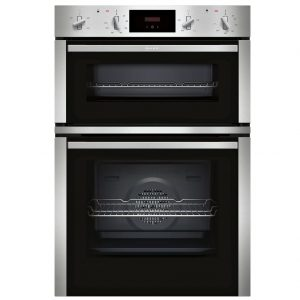 Neff N30 Built-in Double Oven with CircoTherm – Stainless Steel
